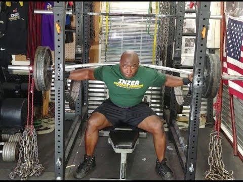 Dynamic squats and sled work garage gym training youtube