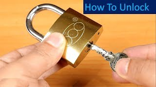 3 Ways to Open a Lock