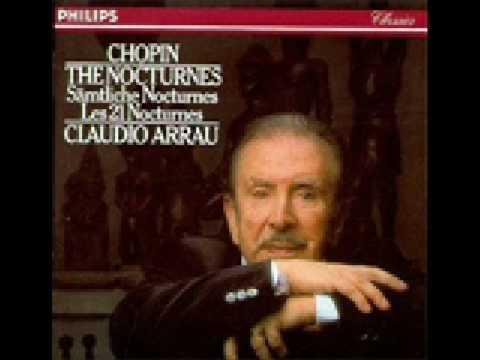 Claudio Arrau Chopin  Nocturne 14 Op.  48 No  2