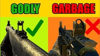 TOP 10 GUNS in Call of Duty that WERE GODLY and NOW ARE GARBAGE!