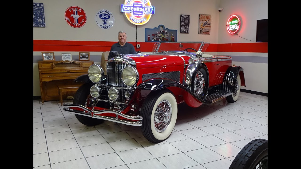 Martin Auto Museum >> 1930 Duesenberg Boattail Speedster Supercharged Martin Auto Museum My Car Story With Lou Costabile