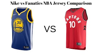 Today i am comparing two different kinds of nba jerseys that are the only officially licensed current jerseys. nike swingman jersey vs fanatics f...