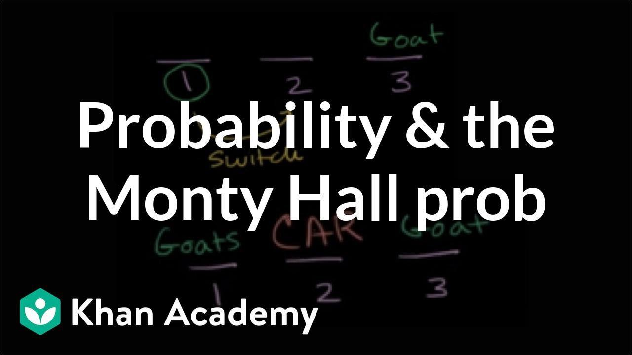 The Monty Hall problem (video) | Khan Academy