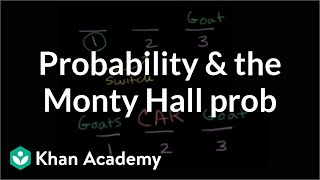 Probability and the Monty Hall problem | Probability and combinatorics | Precalculus | Khan Academy