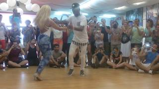Gaby and Estefy - Bachata | Johny Sky - Quiereme | CSSF2016
