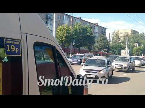 Массовая авария в Смоленске 6 июля 2018 г.