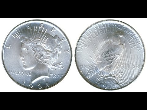 The $1,000,000 1964 Silver Dollar !