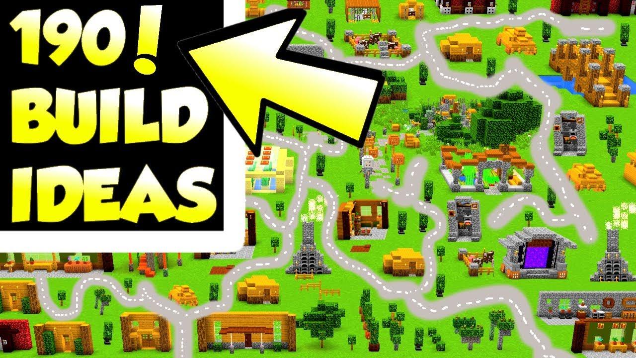 190 Minecraft Build Hacks And Ideas Building Survival House Ideas Youtube