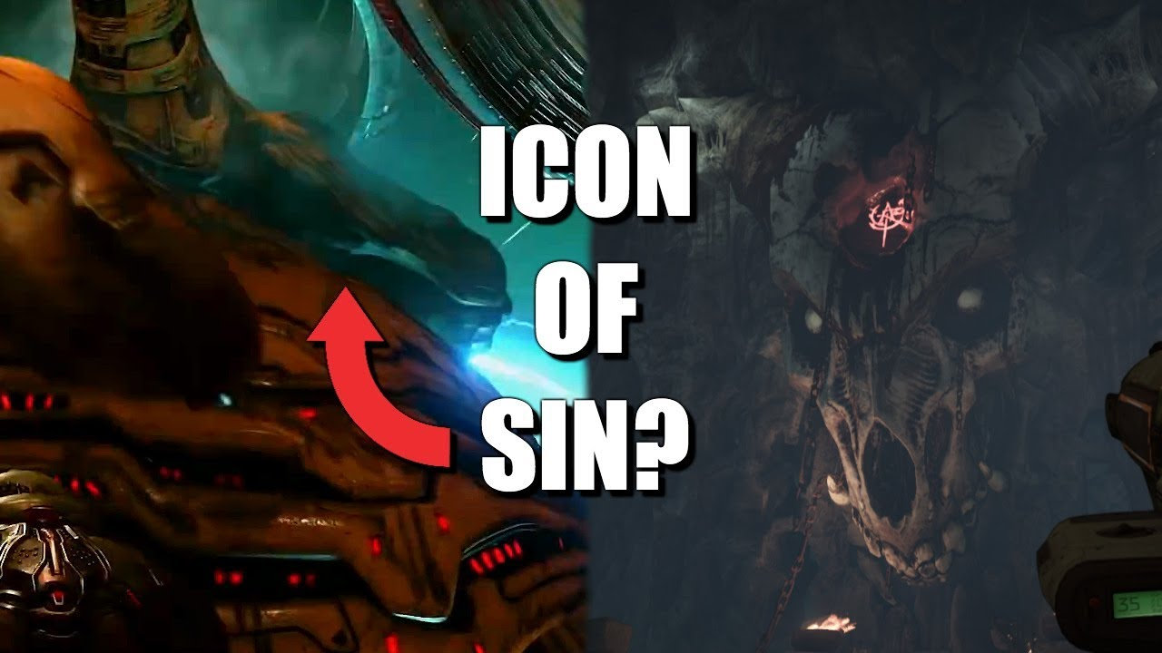 doom eternal icon of sin
