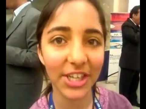 World's youngest MCP Arfa Karim on confidence