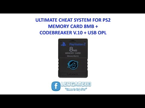 MEMORY CARD + CODEBREAKER 10 + USB OPL FOR PS2 - YouTube