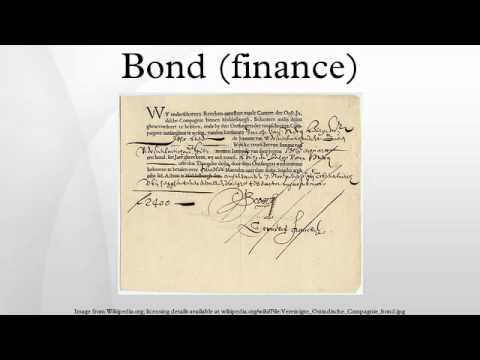Bond (finance)