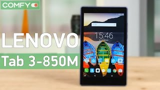 Lenovo Tab 3-850M - планшет с  Dolby Atmos звучанием - Видео демонстрация(Lenovo Tab 3 850M - среднегабаритный планшет относительно доступного уровня с современным оснащением. Узнайте..., 2016-08-11T05:48:37.000Z)