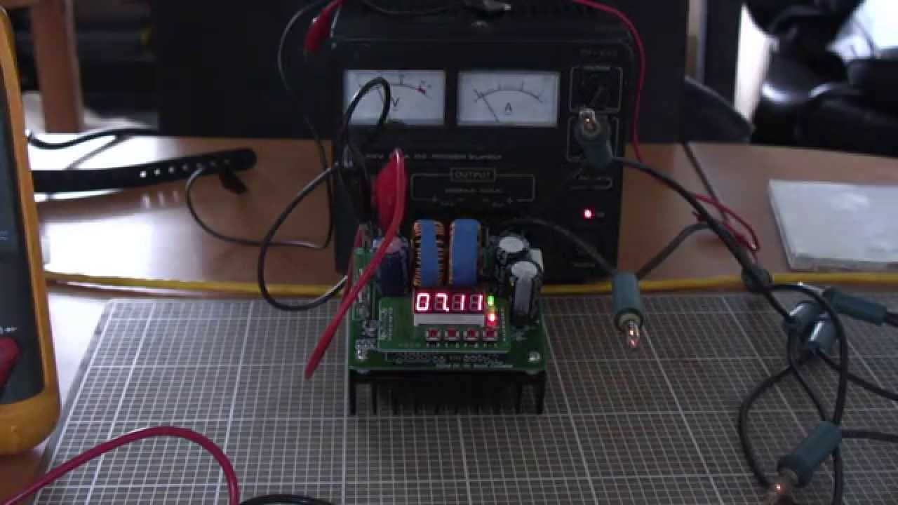 Review 400w Digitally Controlled Dc Step Up Boost Converter To Circuit Far From Perfect Youtube