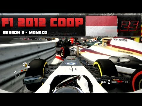 F1 Co-op With Pepper | #25 - MONACO ROADBLOCK!