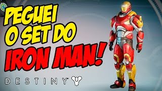 Destiny - Peguei o Set do IRON MAN!!