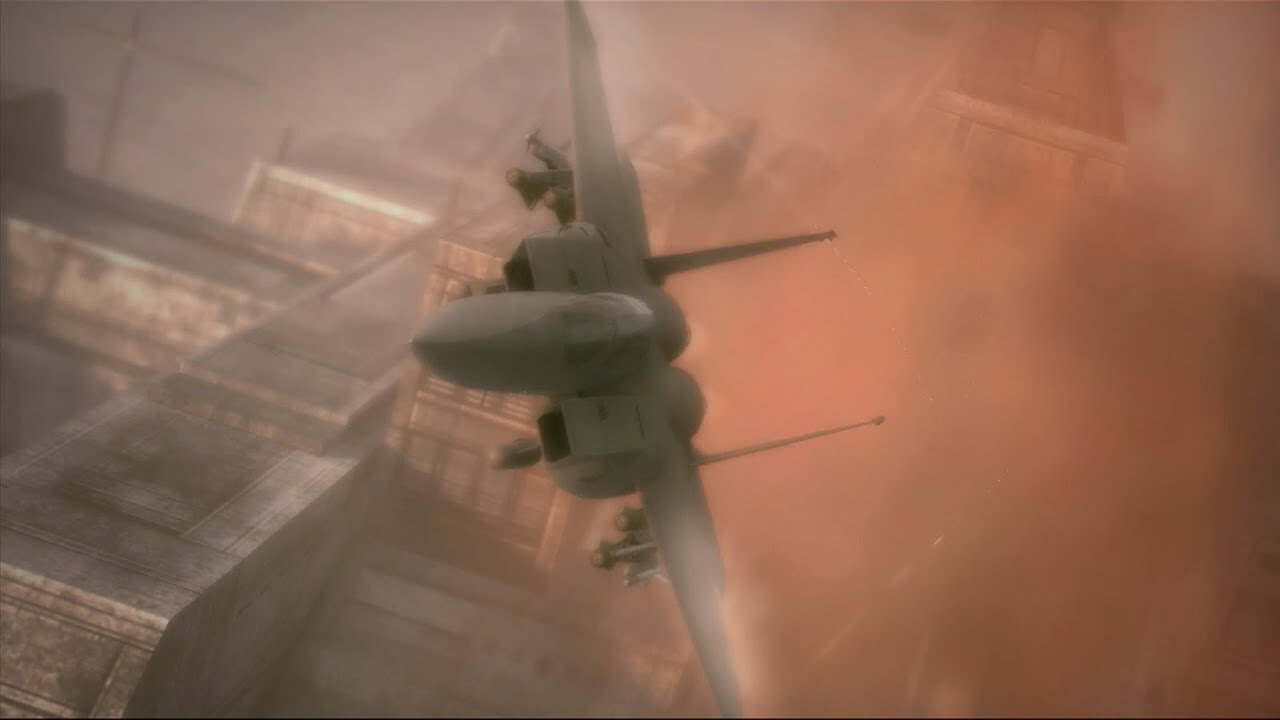 Ace Combat 6 | Mission 15 | Chandelier - YouTube