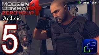 Modern Combat 4: Zero Hour Android Walkthrough - Part 5 - Mission 4: New World Order