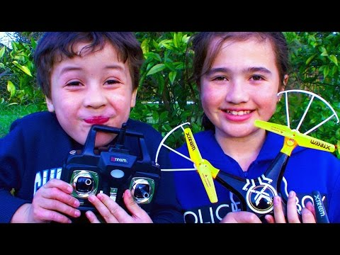 QuadForce Xtreem Cheap Video Drone Costco Toy Review & Test Flight Crash