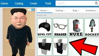 MAKING KIM JONG UN A ROBLOX ACCOUNT