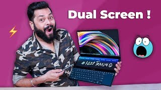 ASUS Zenbook Pro Duo with 2 Screens ⚡⚡⚡ Its The Laptop of Tomorrow!
