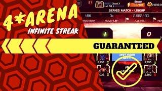 4 arena infinite win streak guaranteed   marvel contest of champions
