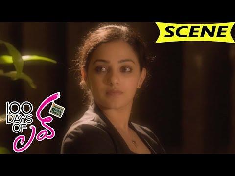 Dulquer Asks Nithya Menen About Love - Romantic Love Scene - 100 Days Of Love Movie Scenes