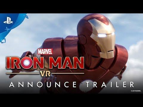Marvel's Iron Man VR | Анонсирующий трейлер | PS VR
