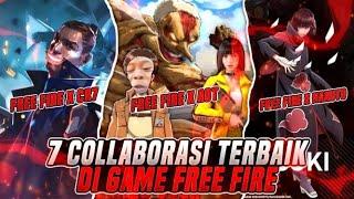 7 Kolaborasi Terbaik Di Game Free Fire