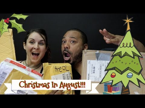 Christmas in August!!
