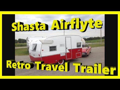 2015 Shasta Airflyte 1961 Re-Release | Retro RV | Vintage