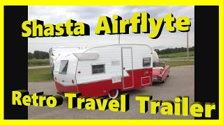 2015 Shasta Airflyte 1961 Re-Release Retro RV Vintage