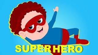 Superhero | Schoolies Videos For Children | Cartoons Videos - Kids Channel