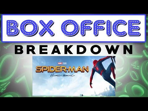 Spiderman Swings Into First Place - Box Office Breakdown for July 9th, 2017