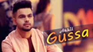 Akhil new song Gussa veary heart touch song