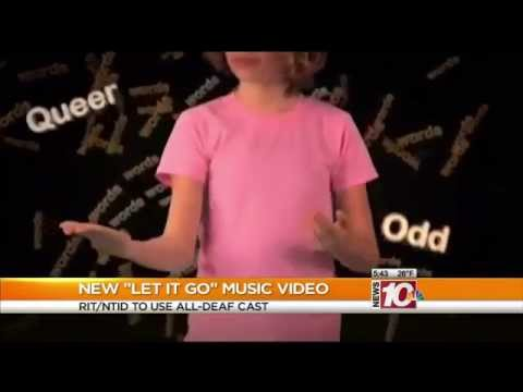 "RIT on TV: ASL Version of ""Let It Go"" on WHEC"
