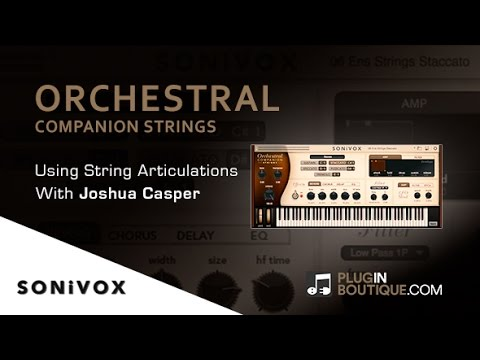 Orchestral Companion Strings By Sonivox - Using Different Articulations