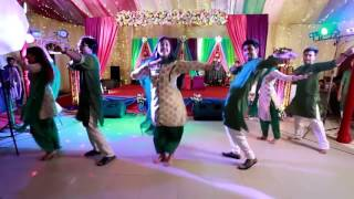 Dhakar pola...New wedding dance..Performed by gaan friendz..