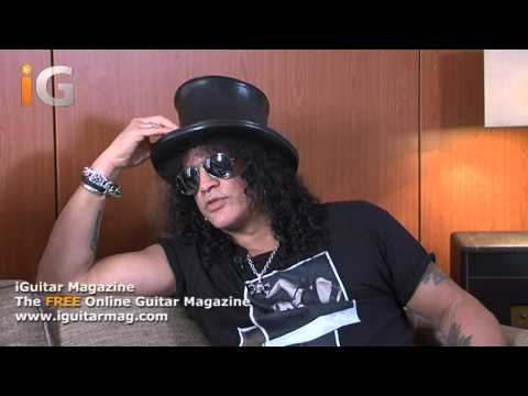 Slash Interview 2012 – Live Gear & Studio Gear Used On Apocalyptic Love – iGuitar Magazine