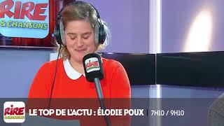 Elodie Poux - Le top de l'actu - 5 avril 2018