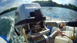 Kontrola a zkouška člunu před nasazením na moře