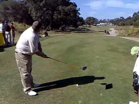 John Daly  HUGE DRIVE Australian Masters
