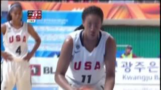 速報女子バスケ 日本vs.米国 Japan vs. USA