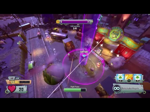 Plants vs Zombies GardenWarfare 2 How to play as drone whole game