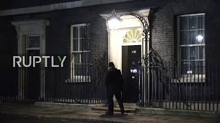 Live outside Downing Street after May won no confidence vote