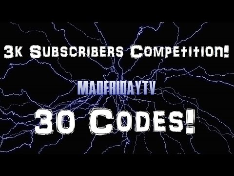 3k Subscribers Competition! - 30 Codes! - World of Tanks Console ( Xbox / PS4 )