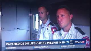 Veterans lead life-saving mission to storm-ravaged Haïti