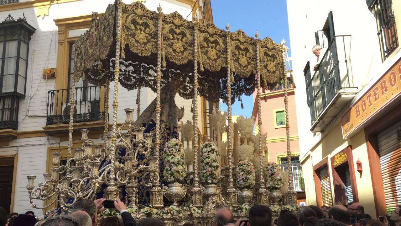 Virgen De Las Angustias Hdad De Los Gitanos Sevilla 2016 La Esperanza De Triana
