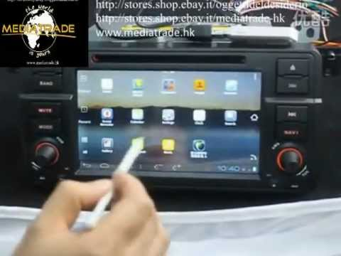 test autoradio monitor gps bmw e46 con sistema android. Black Bedroom Furniture Sets. Home Design Ideas