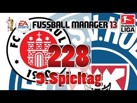 Fussball manager lets play 228 9 spieltag  fc st pauli fm 2014 karriere